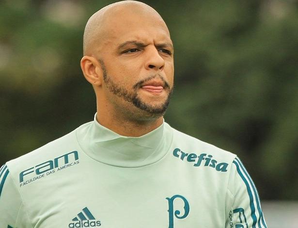 Após período de folga, Felipe Melo se reapresentará ao Palmeiras na próxima semana