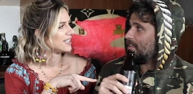 Giovanna Ewbank soube detalhes da vida sexual do marido Bruno Gagliasso em gravação de vídeo para o seu canal.