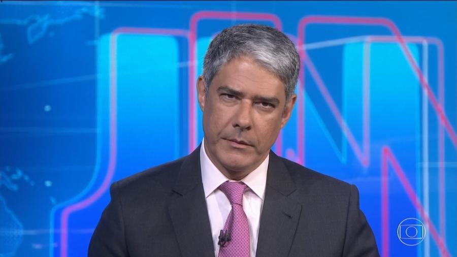 William Bonner no Jornal Nacional (Reprodução/TV Globo) - William Bonner no Jornal Nacional (Reprodução/TV Globo)