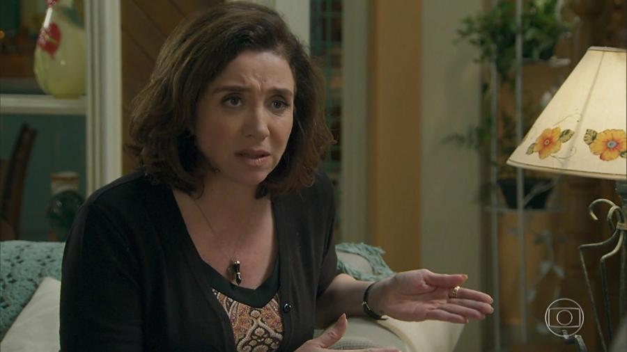 Francesca (Marisa Orth) de Haja Coração (Reprodução - TV Globo) - Reprodução / Internet