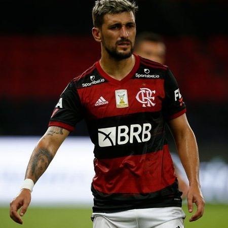 Arrascaeta em ação pelo Flamengo - GettyImages