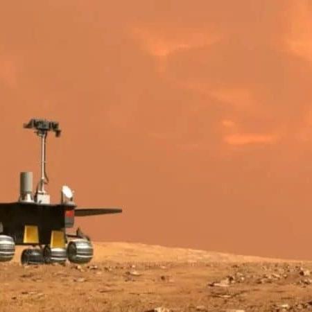 China batizou seu rover marciano como Zhurong - Reprodução