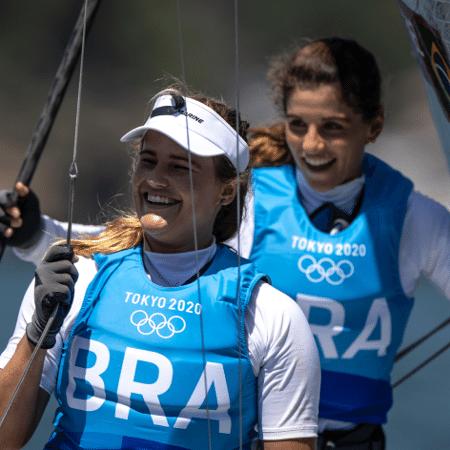 Martine Grael e Kahena Kunze conquistam o ouro em Tóquio-2020 - Jonne Roriz/COB
