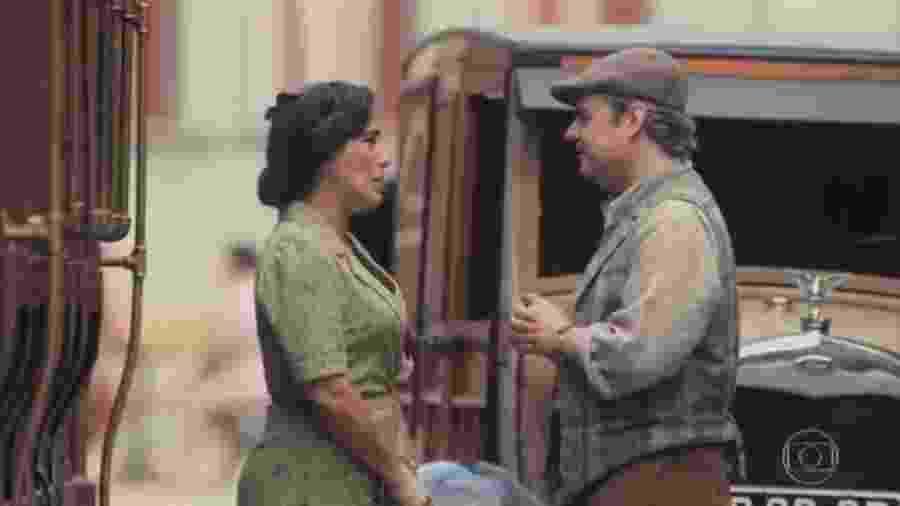 Lola e Afonso, de Éramos Seis (Reprodução) - Reprodução