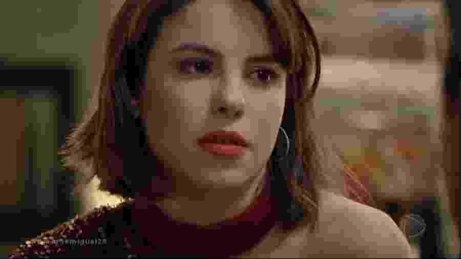 Stephany Brito é Donatella em Amor Sem Igual (Foto: Reprodução/Record TV) - Reprodução/Record TV