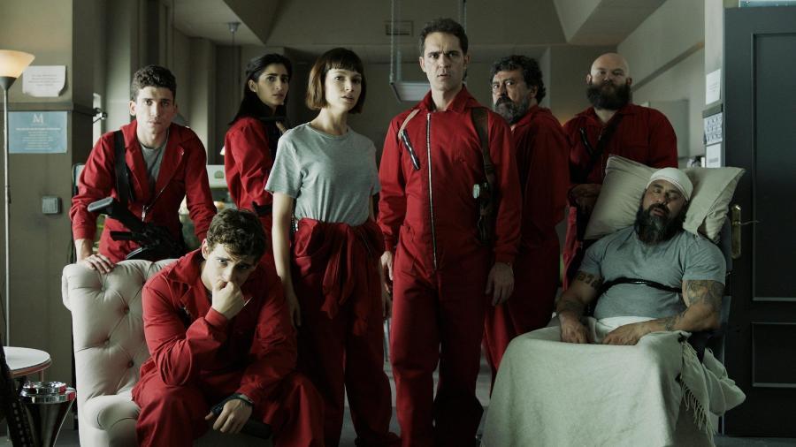 La Casa de Papel: série deverá ter produtos no e-commerce da Netflix - Reprodução / Internet