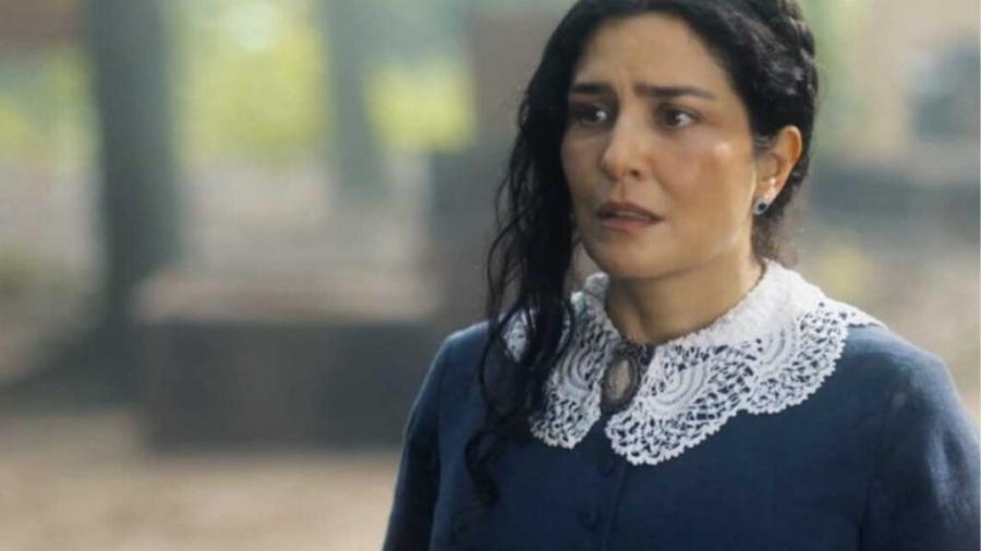 Letícia Sabatella é Teresa Cristina em Nos Tempos do Imperador (Reprodução - Globo) - Reprodução / Internet