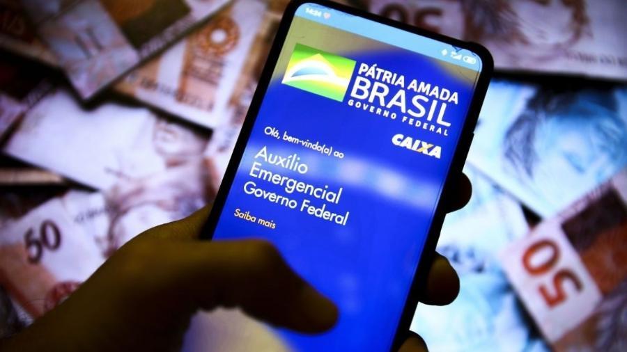 Aplicativo do auxílio emergencial -                                 MARCELO CAMARGO/AGêNCIA BRASIL