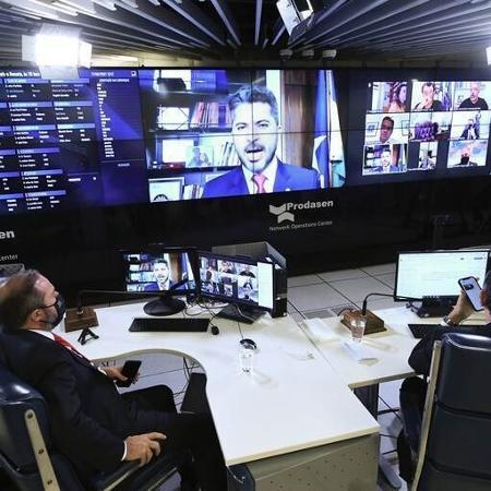 Senado aprova texto-base de MP que permite privatização da Eletrobras - Reprodução/ Edilson Rodrigues/Agência Senado (fotospúblicas)