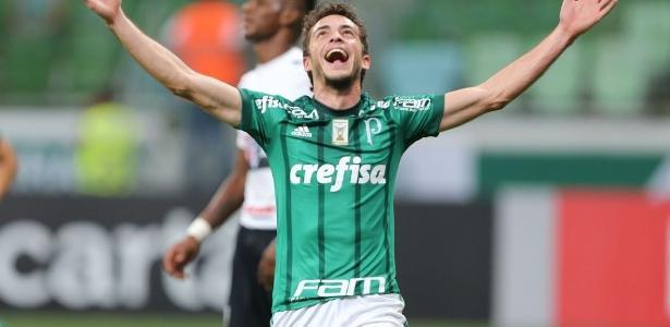 Foi o primeiro gol de Hyoran com a camisa do Palmeiras também