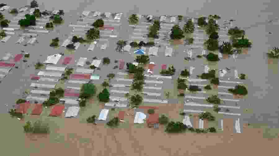 Nicarágua reporta prejuízo milionário devido a furacões -                                 ORLANDO SIERRA/AFP