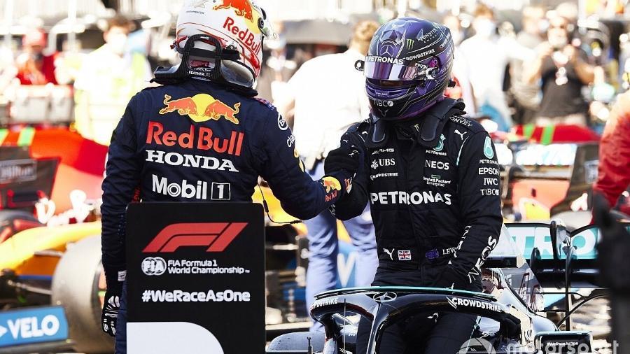 F1: Confira como ficou grid de largada do GP da Espanha, com a 100ª pole de Hamilton - Divulgação