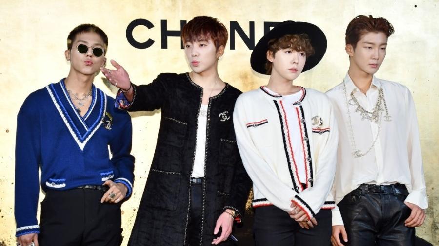 Integrantes do grupo WINNER - The Chosunilbo JNS / Imazins via Getty Images