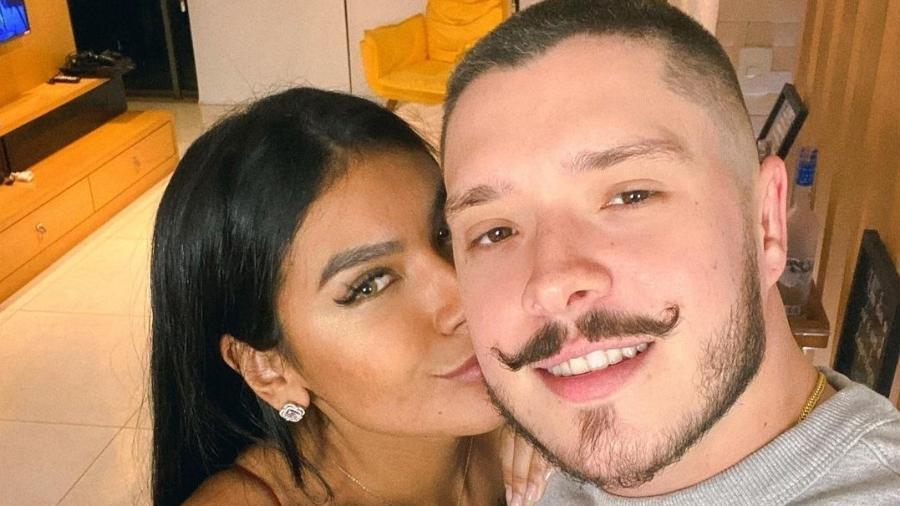 Pocah e o noivo, Ronan Souza - Reprodução/Instagram