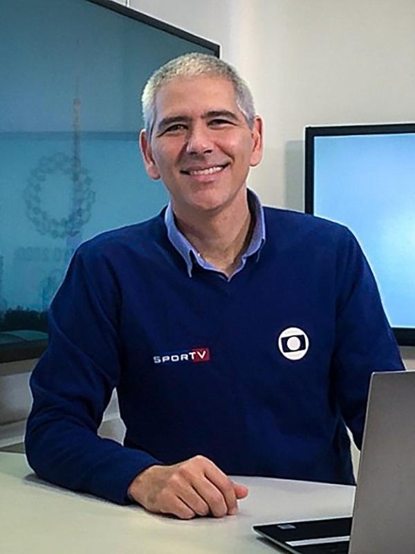 Carlos Gil é correspondente da Globo no Japão