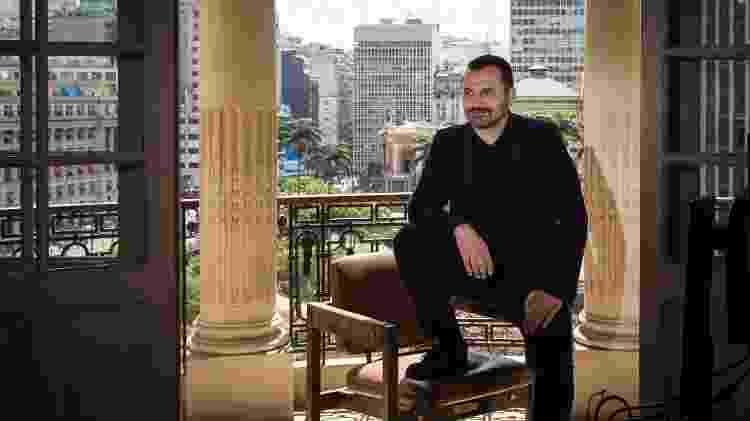 O secretario de Cultura de São Paulo, Alê Youssef - Zanone Fraissat/Folhapress - Zanone Fraissat/Folhapress