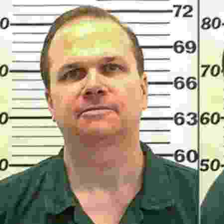 Mark Chapman, assassino de John Lennon, na prisão em 2010 - Getty Images