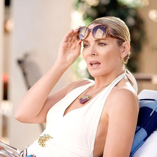 Kim Cattrall em Sex and the City