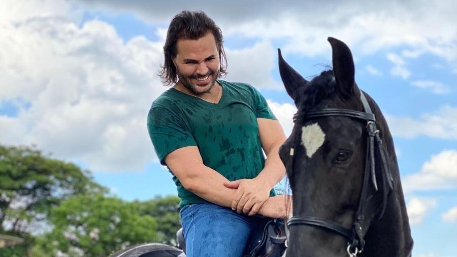 O cantor sertanejo Eduardo Costa - Reprodução/Instagram