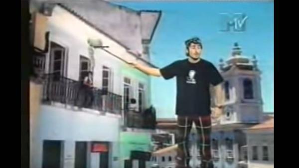 Marcos Mion no 'Piores Clipes do Mundo', da MTV
