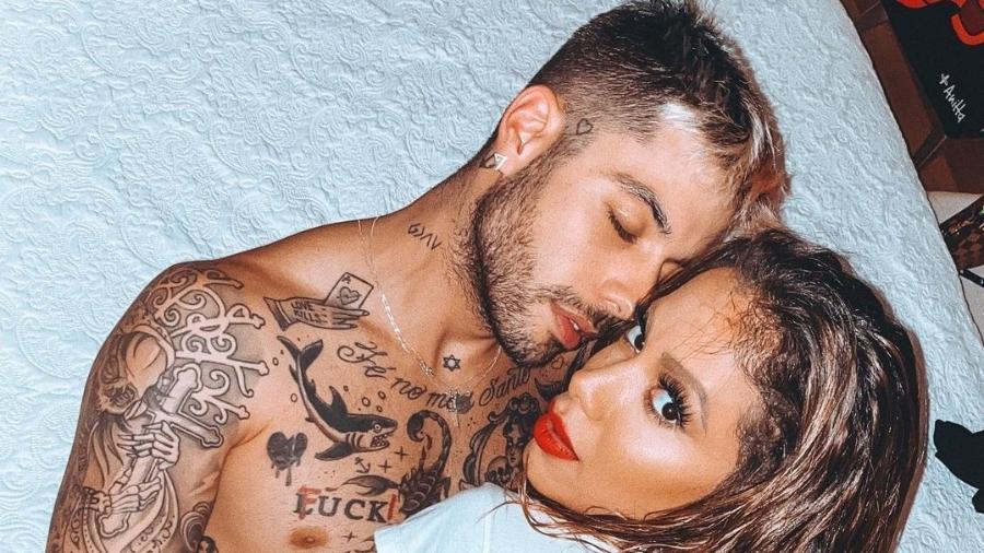 Anitta e Gui Araújo namoraram por quatro meses em 2020 - Reprodução/Instagram