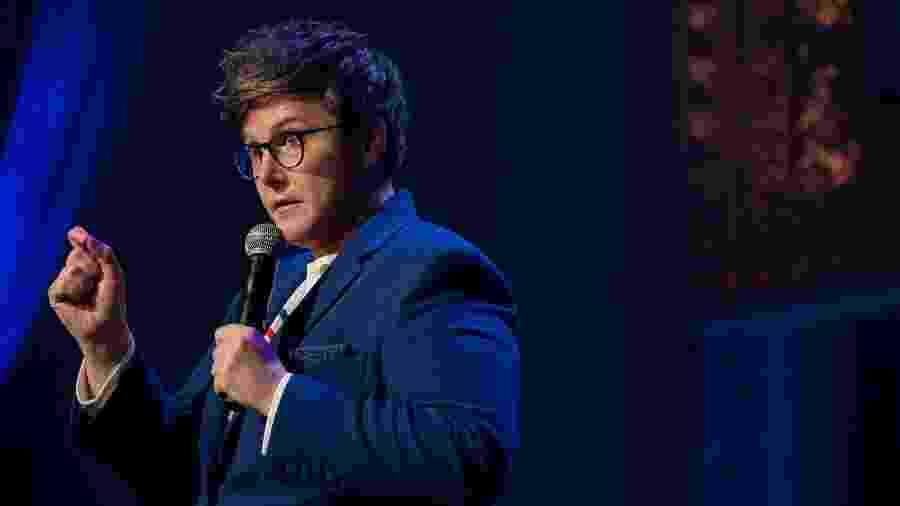 A comediante Hannah Gadsby: salva pelo diagnóstico de autismo - Ali Goldstein/Divulgação