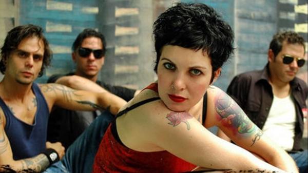 A banda Luxúria nos anos 2000: Meg Stock era uma das musas do rock alternativo