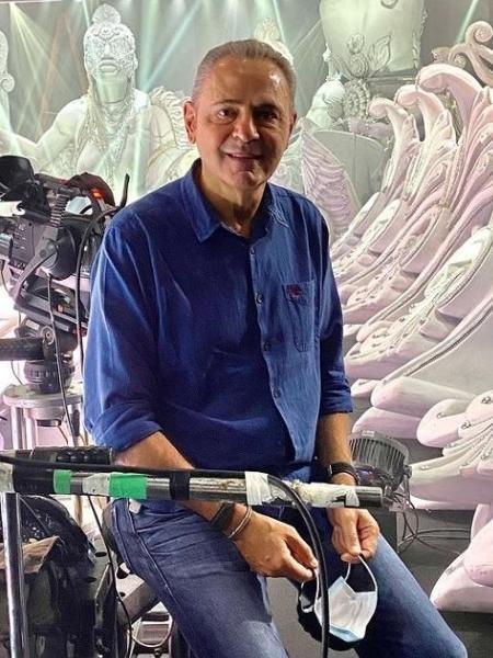 Luis Roberto comandará o programa de Carnaval na Globo - Reprodução/Instagram