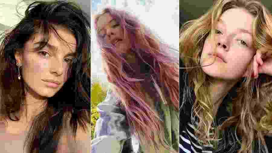 Amélie Tremblay, Behati Prisloo e Eliza Kallmann, modelos exclusivas da Elite NY - Instagram/Reprodução