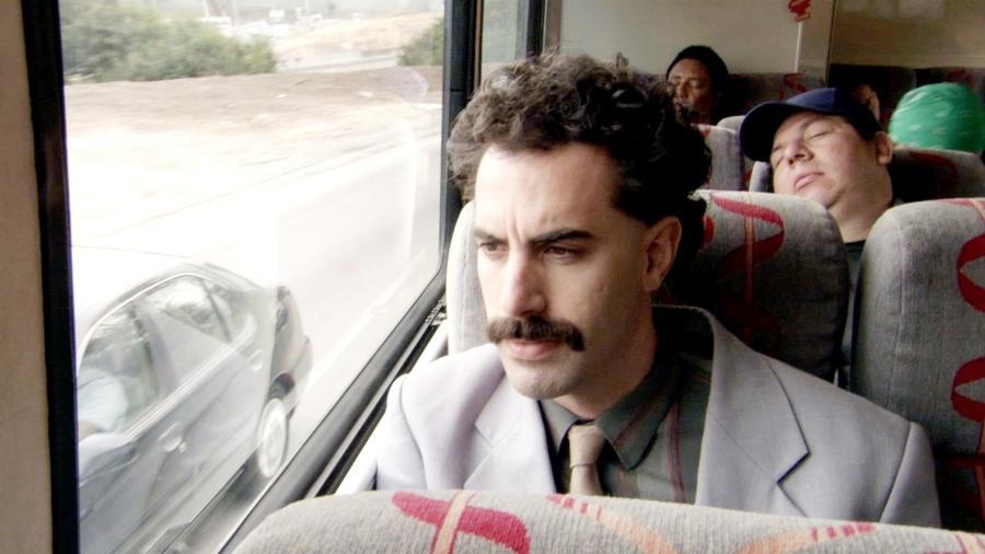 """""""Borat: Fita de Cinema Seguinte"""" foi um dos filmes premiados no Globo de Ouro - Divulgação"""