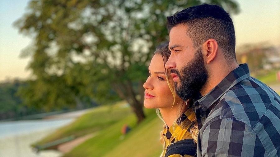 Gusttavo Lima e Andressa Suita anunciaram a separação no final do ano passado - Reprodução/Instagram