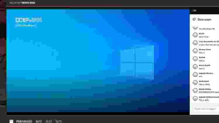 Tela azul na CCXP - Reproudção - Reproudção