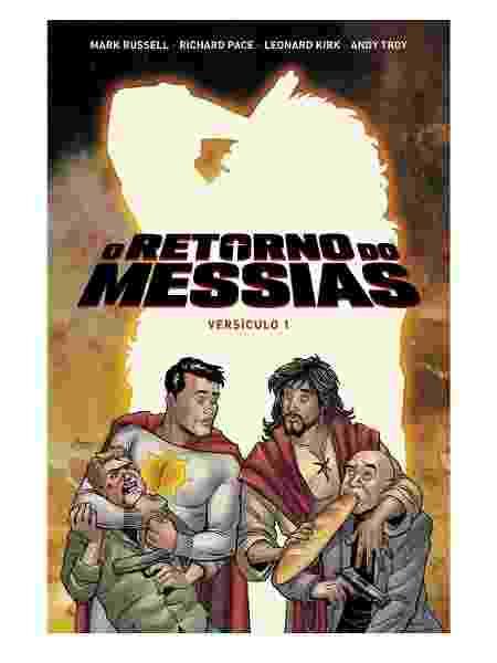Capa de O Retorno do Messias - Reprodução - Reprodução
