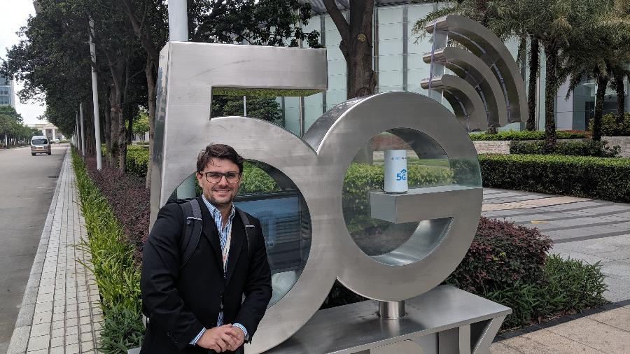 Tiago Fontes, diretor de marketing estratégico da Huawei Brasil - Divulgação