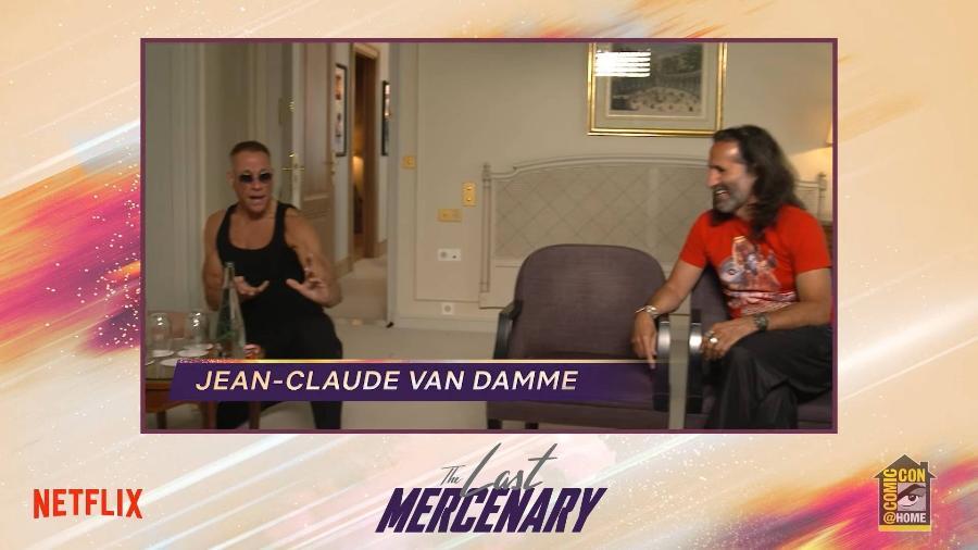 """Jean-Claude Van Damme divulga """"O Último Mercenário"""", filme dele na Netflix - Reprodução/YouTube"""