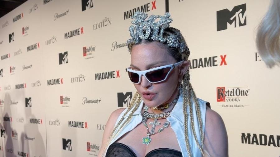 """Madonna durante a première de """"Madame X"""" - Carol Camargo/UOL"""