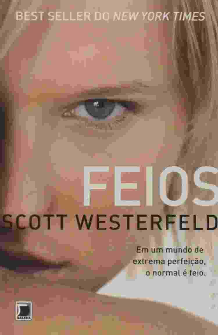 Capa de 'Feios', que será adaptado pela Netflix - Reprodução - Reprodução