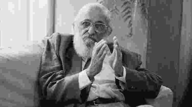 Paulo Freire - Márcio Novaes/ Acervo SME/ Memorial da Educação Municipal/ Ocupação Paulo Freire - Márcio Novaes/ Acervo SME/ Memorial da Educação Municipal/ Ocupação Paulo Freire