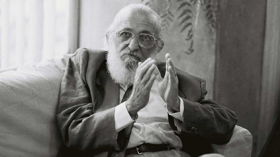 """Método de Paulo Freire visava acabar com uma """"lógica bancária"""" na educação e estabelecer um ensino baseado no diálogo - Márcio Novaes/Ocupação Paulo Freire"""