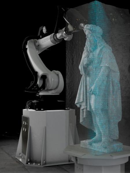 Demonstração virtual de máquina da Robotor operando - Reprodução