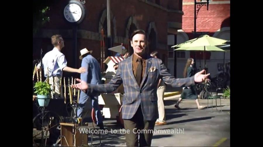 """Cena do trailer da 11ª temporada de """"The Walking Dead"""" - Reprodução/Twitter"""