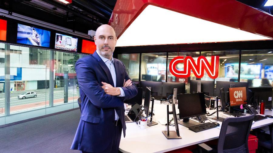 O fundador e CEO da CNN Brasil, Douglas Tavolaro - Divulgação/Spokesman