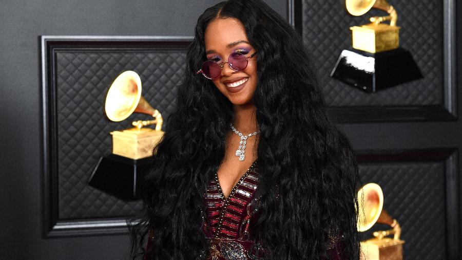A cantora H.E.R.  - Kevin Mazur/ Getty images