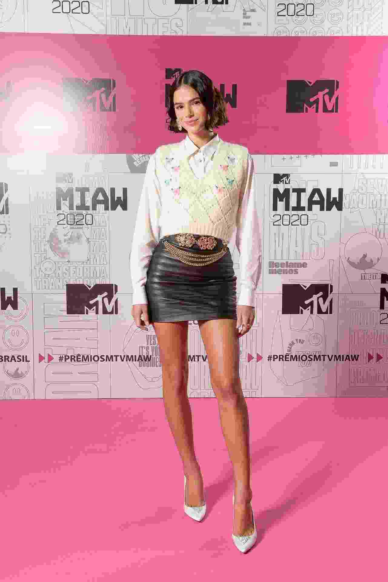 Luz na passarela! Com vocês a apresentadora do MTV Miaw 2020: Bruna Marquezine! - Cleiby Trevisan/Divulgação