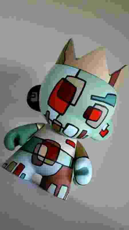 Boneco criado por Mike Shinoda - Reprodução - Reprodução