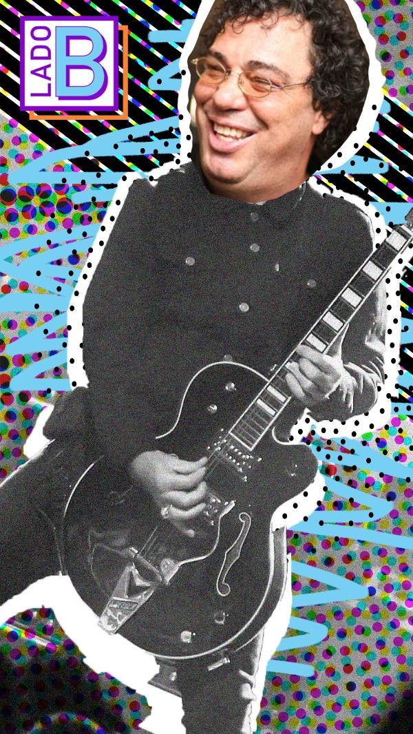 Casagrande em sua versão guitarrista
