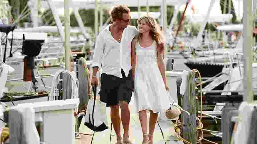 """Matthew Mcconaughey e Sarah Jessica Parker em cena de """"Armações do Amor"""" (2006) - Divulgação"""