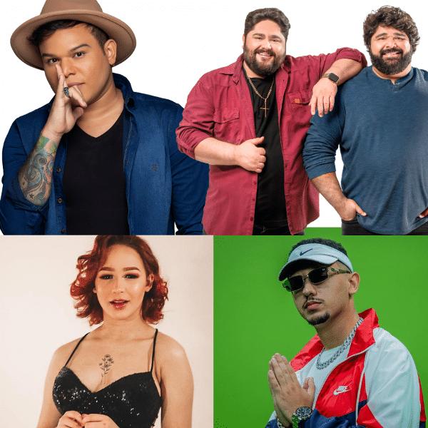 Tierry, César Menotti e Fabiano, Malu e DJ Lucas Beat: eles fizeram 'Disco Arranhado' acontecer
