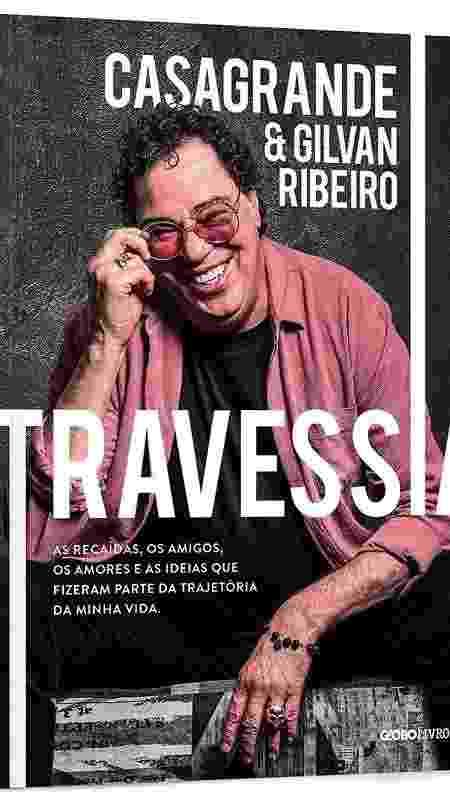 """Capa do livro """"Travessia"""", de Walter Casagrande - Divulgação - Divulgação"""