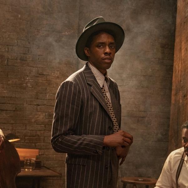 Chadwick Boseman em 'A Voz Suprema do Blues'